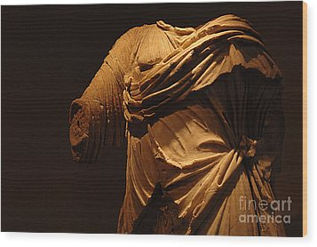 Sculpture Olympia 1 Wood Print by Bob Christopher