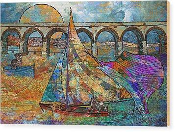 Sea Dream Wood Print by Mary Ogle