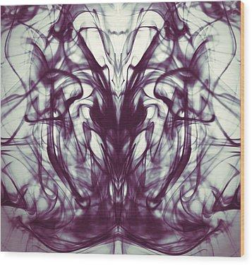 Sea Horse Wood Print by Sumit Mehndiratta