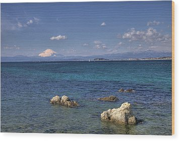 Wood Print featuring the photograph Sea by Tad Kanazaki