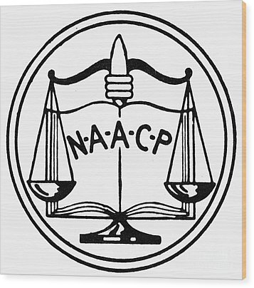 Seal: Naacp Wood Print by Granger