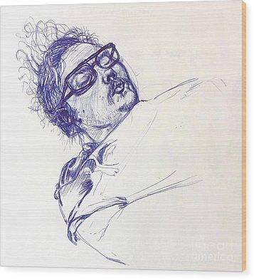Sean Wood Print by Mack Galixtar