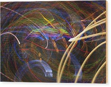 Seance Swirl Wood Print