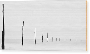 Seascape Wood Print by Photography by Neil Shearer