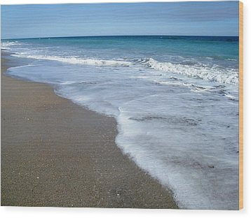 Seascape Wrightsville Beach Nc  Wood Print