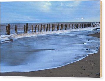 Seashore Wood Print by Svetlana Sewell