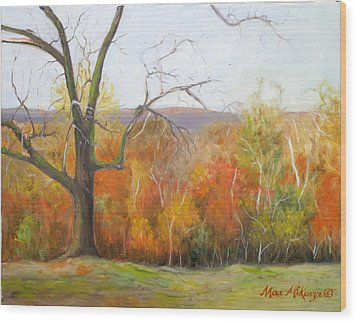 Seasons Pass Wood Print by Max Mckenzie