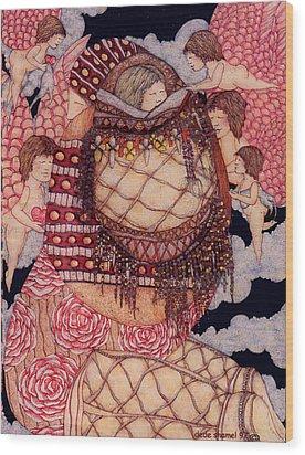 Secret Wood Print by Dede Shamel Davalos