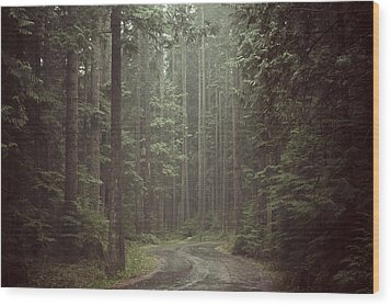 Secret Pathway Wood Print by Christopher Kimmel