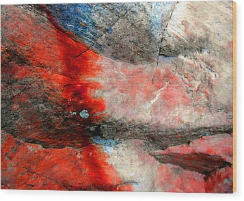 Sedona Red Rock Zen 2 Wood Print
