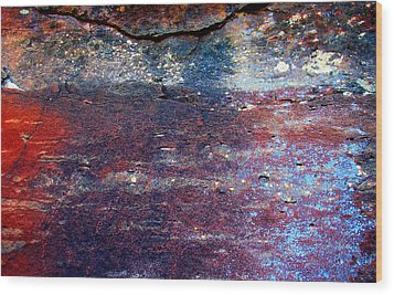 Sedona Red Rock Zen 53 Wood Print