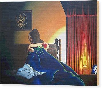 Seduced Wood Print by Hershel Kysar