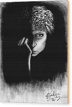 self portrait I Wood Print
