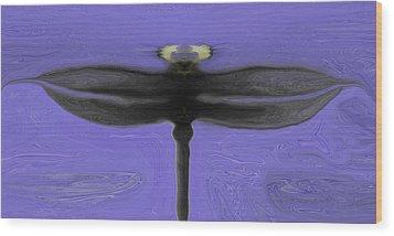 Self Reflections Wood Print by James Mancini Heath