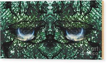 Sentiens Ultra Wood Print by Thomas OGrady