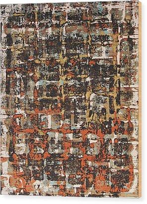 Senza Fine - Never Ending Wood Print by James Mancini Heath
