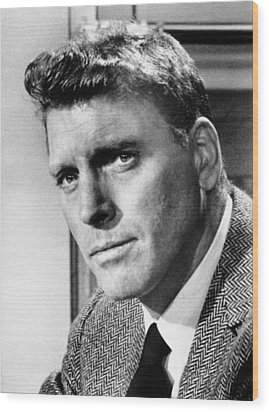 Separate Tables, Burt Lancaster, 1958 Wood Print by Everett
