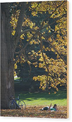 Wood Print featuring the photograph September Dreams by Joseph Yarbrough