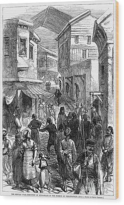 Serbo-turkish War, 1876 Wood Print by Granger