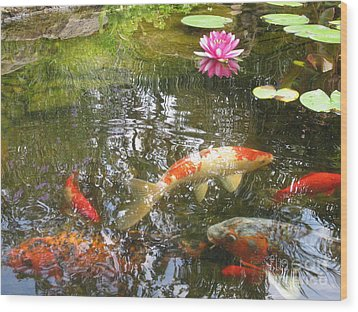 Wood Print featuring the photograph Serenity by Laurianna Taylor