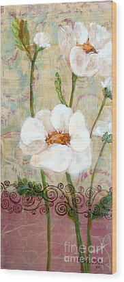Serenity Wood Print by Susan Fisher