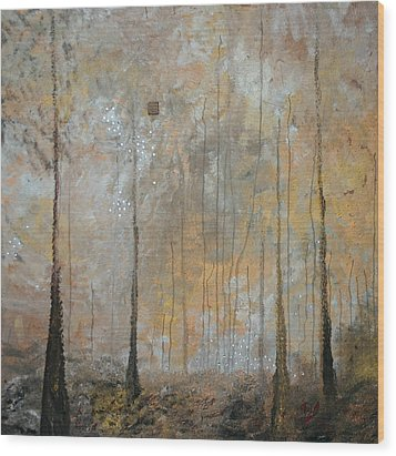 Serenity Wood Print by Germaine Fine Art