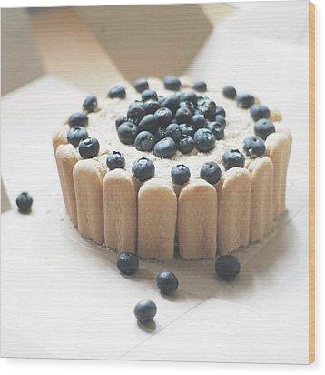Serradura Birthday Cake Wood Print by Daisy*
