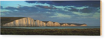 Seven Sisters Panorama Wood Print by Mark Leader