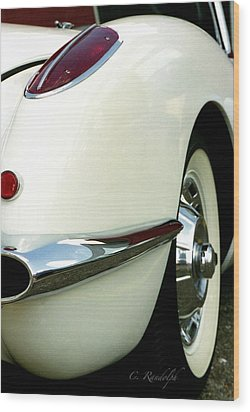 Wood Print featuring the photograph Sex On Wheels by Cheri Randolph