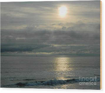 Wood Print featuring the photograph Shades Of Gray by Everette McMahan jr