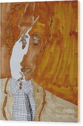 Shades Of Paul Wood Print by Stephanie Ward