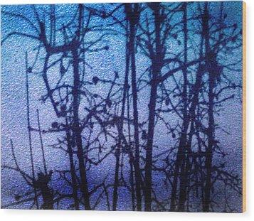 Shadow Limbs Wood Print