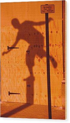 Shadow Play  Wood Print by Richard Piper