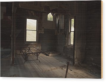Wood Print featuring the photograph Shadows Of Time by Fran Riley