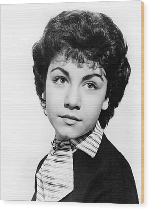 Shaggy Dog, Annette Funicello, 1959 Wood Print by Everett