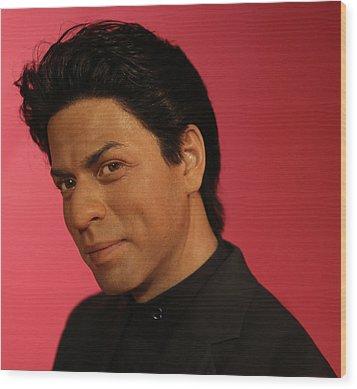 Shahrukh Khan - Shah Rukh Khan - Baadshah Of Bollywood - King Khan - The King Of Bollywood  Wood Print by Lee Dos Santos