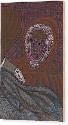 Shamsiel And The Little Father Wood Print by Al Goldfarb
