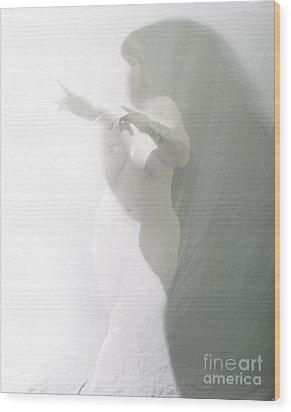 Shaped Shadows Wood Print by Scott Sawyer