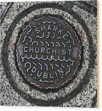 Sharkey Church Street Wood Print by John Rizzuto