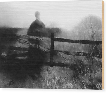 She Has Waited So Long Wood Print by Gun Legler