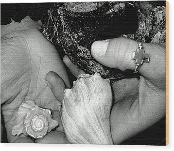 She Sells Seashells... Wood Print