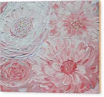 Sheer Bliss Wood Print by Christine Krainock