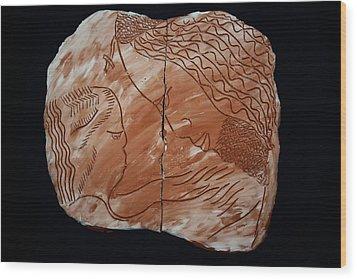 Shepherd Wood Print by Gloria Ssali