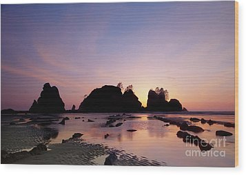 Shi Shi Beach Wood Print by Keith Kapple