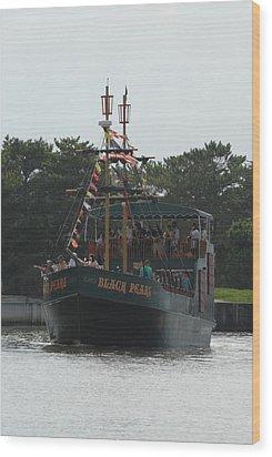 Ship 29 Wood Print by Joyce StJames