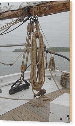 Ship 32 Wood Print by Joyce StJames
