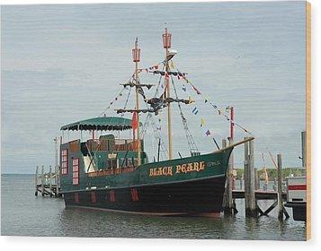 Ship 34 Wood Print by Joyce StJames