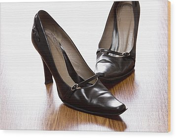 Shoes Wood Print by Blink Images