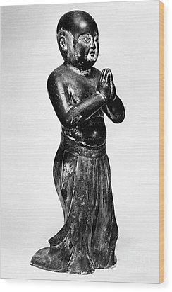 Shotoku Taishi (574-622) Wood Print by Granger