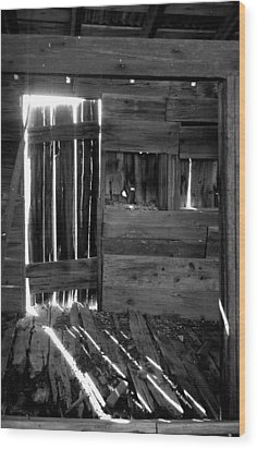 Wood Print featuring the photograph Shreds Of Yesterday by Vicki Pelham